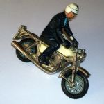 Britains 1:32 Norton 850cc police bike loose
